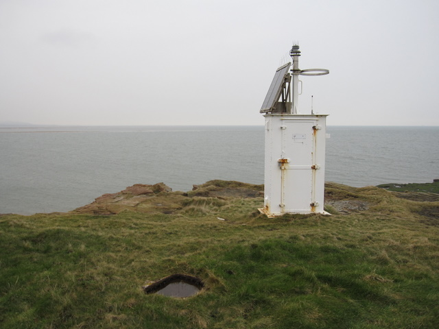 Hilbre Island lighthouse