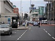 J3474 : Traffic Chaos, Oxford St by Dean Molyneaux
