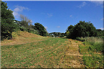 SX4460 : Footpath to, or from, Warren Point - Ernesettle, Plymouth by Mick Lobb