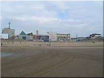 SD3035 : Louis Tussaud's, Blackpool Promenade by Stephen Sweeney