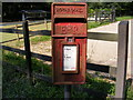 TM3067 : White Horse Postbox by Adrian Cable