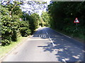 TM3067 : A1120 Carrs Hill, Badingham by Adrian Cable