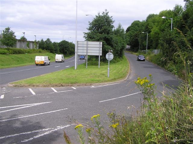 Link Road, Omagh by Kenneth  Allen