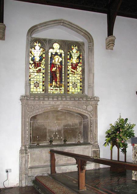 St Martin's Church - the Easter Sepulchre