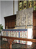 TM0890 : St Martin's Church - altar and reredos by Evelyn Simak