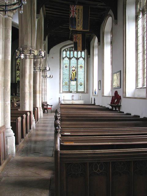 St Martin's Church - south aisle