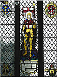 TM0890 : St Martin's Church - war memorial window by Evelyn Simak