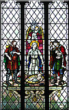 TM0890 : St Martin's Church - west window by Evelyn Simak
