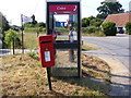 TM3570 : Telephone Box & Little Pouys Street Postbox by Adrian Cable