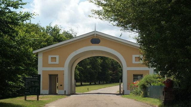 Entrance to Polesden Lacey Estate, Surrey