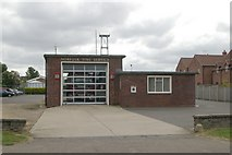 TG0738 : Holt fire station by Kevin Hale