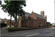 SS9712 : Blundell's School chapel, Tiverton by Derek Harper