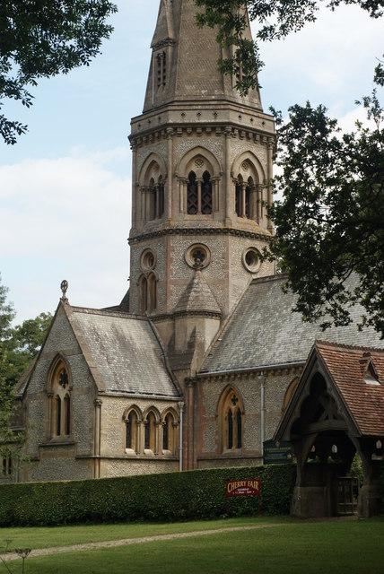 St.Barnabas Church, Ranmore Common