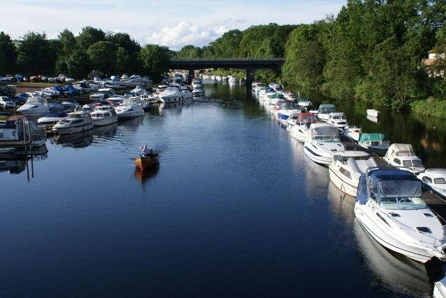 River Leven, Balloch