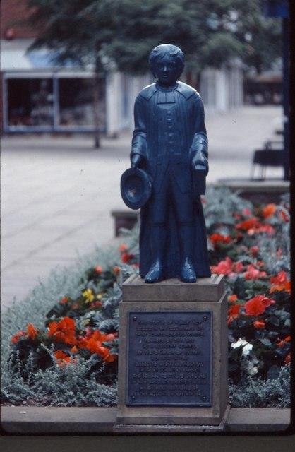 Blue Boy Statue, Princesshay in 1980