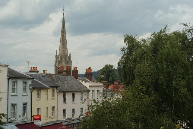 View Over Dorking, Surrey