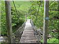 NN0936 : Bridge over River Kinglass by Hugh Venables