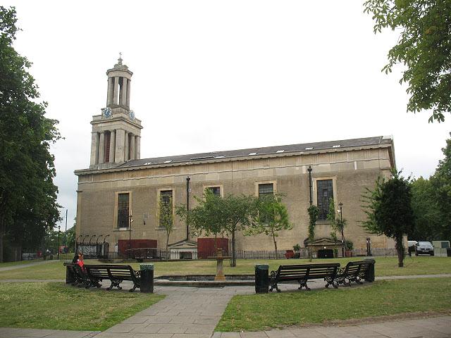 St Matthew's church, Brixton