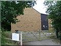 SP8691 : Rockingham Telephone Exchange by David Hillas