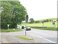 SD9652 : Traffic lights for cattle on the A65 by Stephen Craven