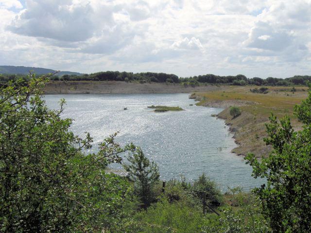 North Bank and Islands at College Lake