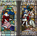TM3199 : The church of SS Peter & Paul -  C19 stained glass by Evelyn Simak