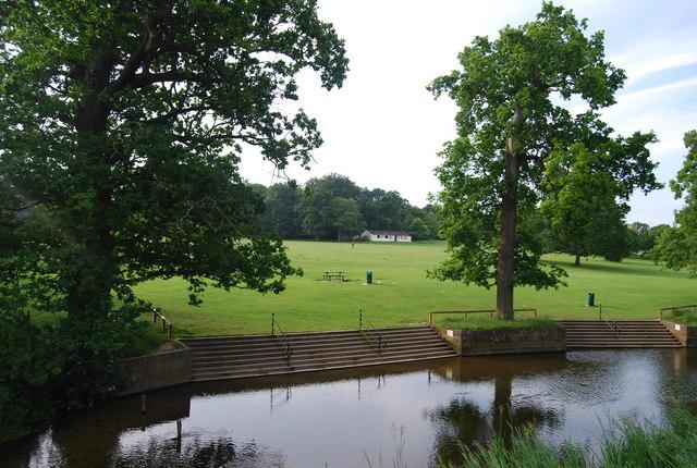 River Yare, Earlham Park