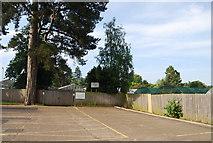 TG1908 : Car Park, Earlham Park by N Chadwick