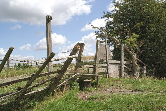 A stile on the Trent Valley Trail
