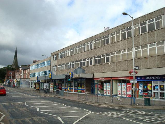 Shops, Tonbridge by Stacey Harris