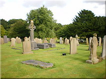 SD4520 : St Mary's, Tarleton, Graveyard by Alexander P Kapp