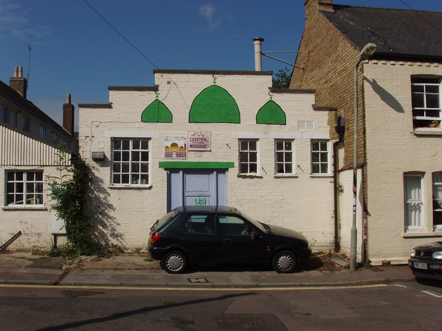 Original building of Central Oxford Mosque