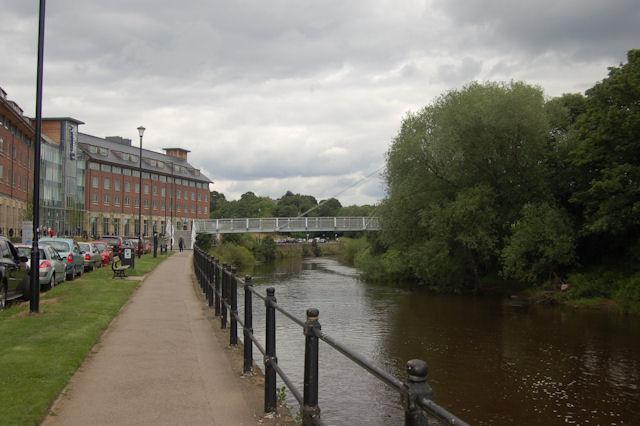River Wear alongside Framwellgate