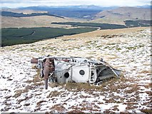 NS6682 : Fairey Firefly Wreckage - Image #1 by James T M Towill