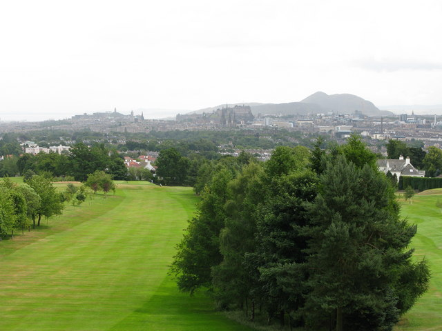 Rest and be Thankful View from Corstorphine Hill