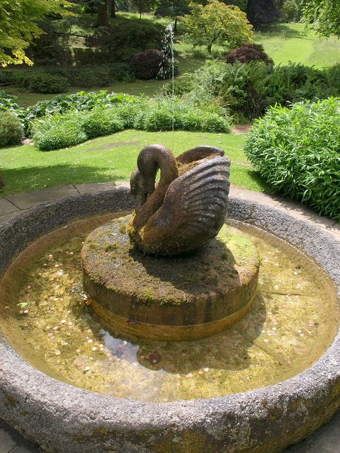 Swan Fountain, Dartington