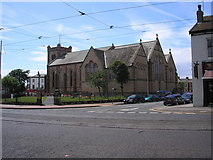 SD3348 : St. Peter's Church, Fleetwood by Dr Neil Clifton