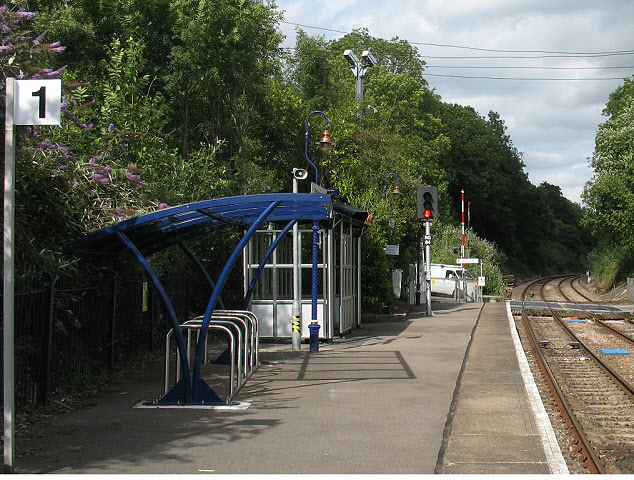 Platform 1 at Betchworth
