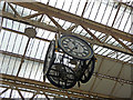 TQ3179 : Clock, Waterloo Station, London by Christine Matthews