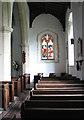 TM2887 : St Mary's church - south aisle by Evelyn Simak
