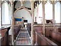 TM2290 : St Margaret's church - view west by Evelyn Simak