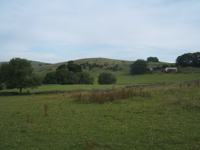 View in Madge Dale, north of Hartington