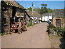 SS7701 : Coleford, Devon by T F