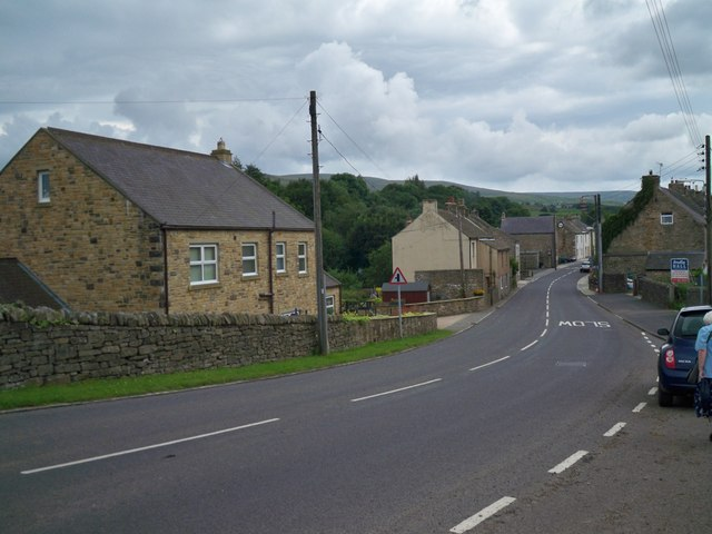 A689 approaching Westgate