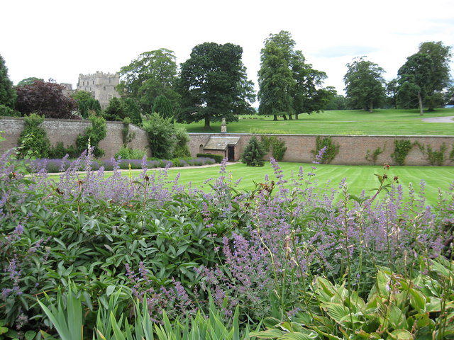 Walled garden at Raby Castle