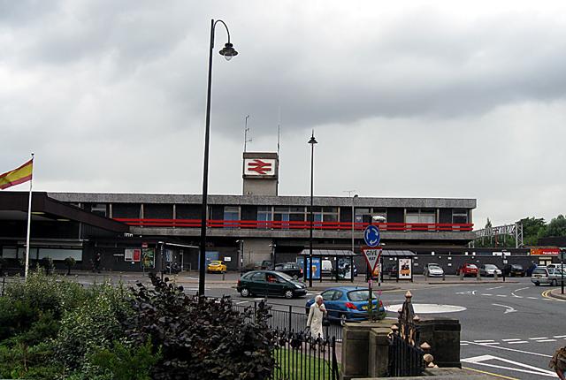 "Stafford's ""Attractive"" Railway Station"