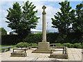 NZ2325 : War Memorial Redworth Road Shildon by peter robinson