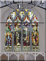 TM3464 : Window of  St.Michael's Church, Rendham by Adrian Cable