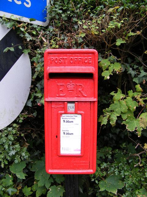 Bigsby's Corner  Postbox,