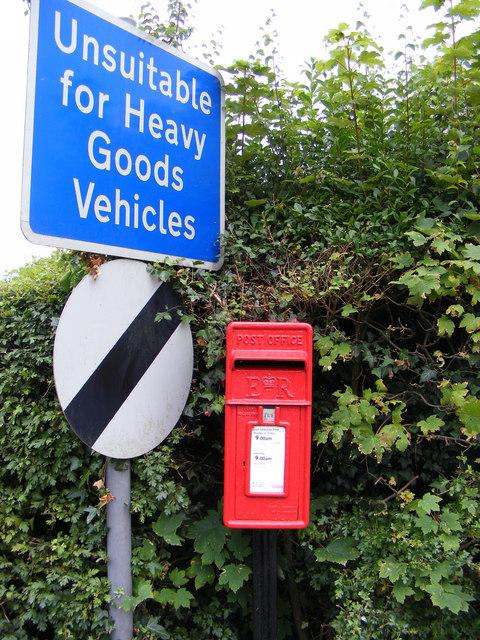 Bigsby's Corner Postbox & Roadsign